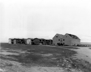 Dugway Proving Ground, German and Japanese Village, 1940s. ダグウェイ実験場。