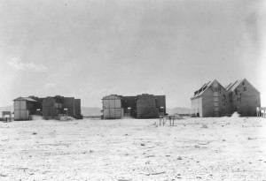 Dugway Proving Ground, German and Japanese Village, 1947. ダグウェイ実験場。